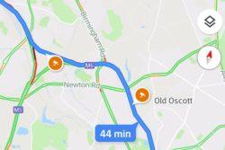 google maps advarer viser fartkontroller trafik / Newz.dk