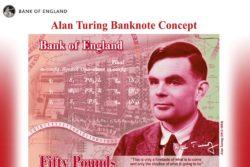 Alan Turing pengeseddel hyldes / Newz.dk