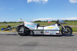 dansk elektrisk motorcykel indtager verdensrekord / newz.dk
