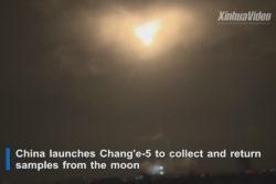 kina rumfartøj måne mission chang'e-5 / newz.dk