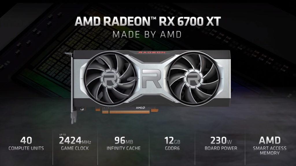 amd radeon rx 6700 xt specifikationer / newz.dk