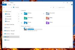 windows file explorer stifinder ikoner mapper papirkurv insider preview / newz.dk