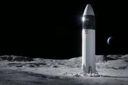 spacex nasa kontrakt artemis program månelanding / newz.dk