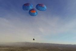 new sheperd blue origin mission bemandet auktion / newz.dk